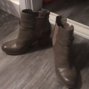 Abound taupe ankle boots (Nordstrom brand)